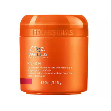 Wella Professionals Enrich Moisturizing Treatment for Fine to Normal Hair – Tratamento 150ml