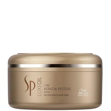 SP System Professional Luxe Oil Keratin Restore Mask – Máscara de Tratamento 150ml